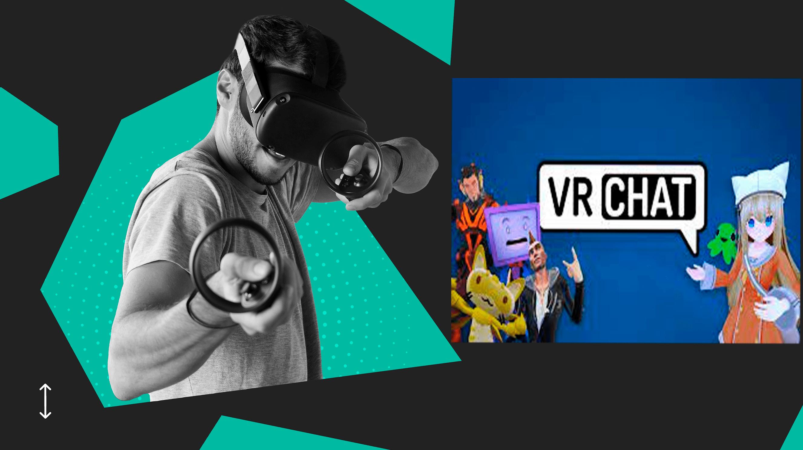 Cara Menambah Rakan dalam VRChat