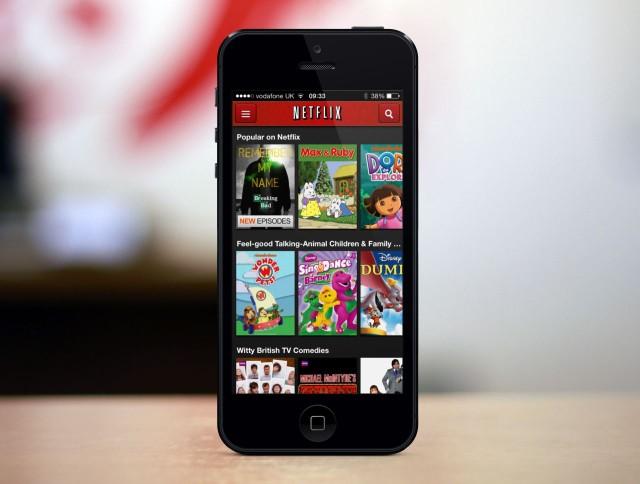 Di mana Muat turun Netflix disimpan di iPhone